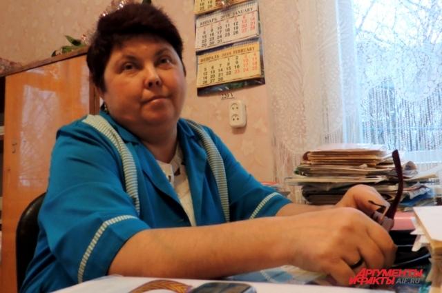 Валентина Владимировна работает на селе фельдшером уже почти 30 лет.