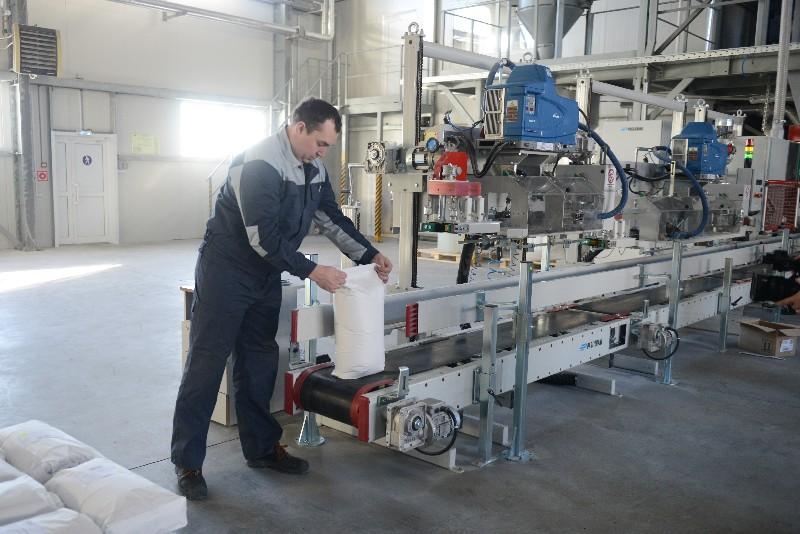 На новом заводе в Рославле уже работают 47 сотрудников.