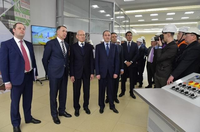 На открытии присутствовал глава республики Рустэм Хамитов.