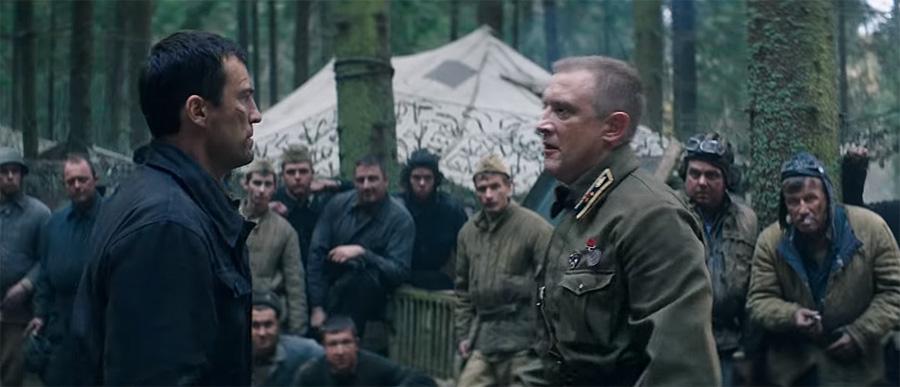 Андрей Чернышов и Сергей Горобченко в фильме «Несокрушимый».