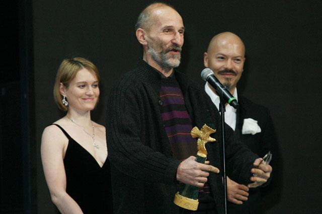 Пётр Мамонов на премии Золотой орел . 2007 год