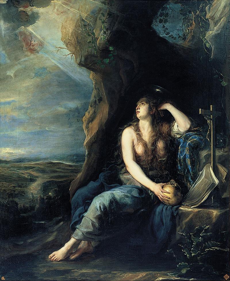 Хуан Карреньо де Миранда. Покаяние Марии Магдалины.