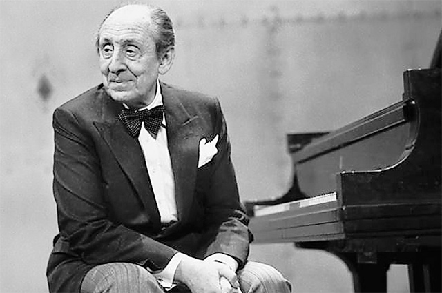 Пианист Владимир Горовиц.