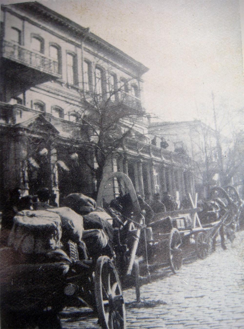 Эвакуация гражданского населения из Крыма.