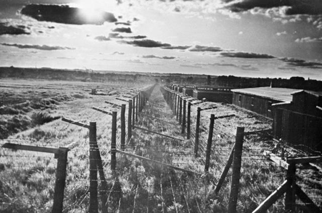 Общий вид лагеря Освенцим-Бжезинка