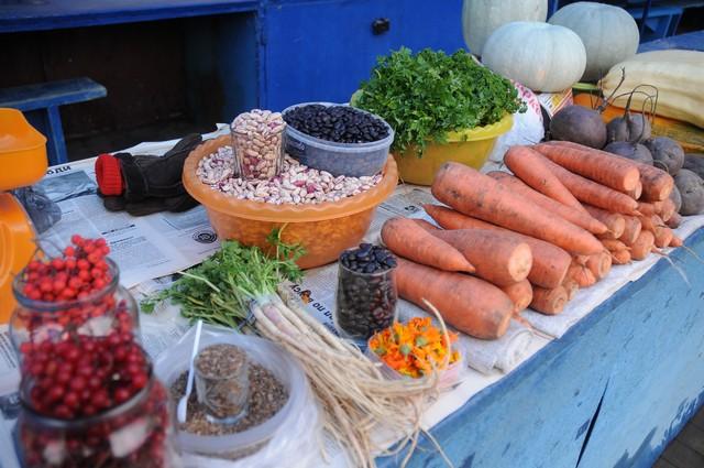 Заменим турецкие овощи и фрукты выращенными на собственном огороде.
