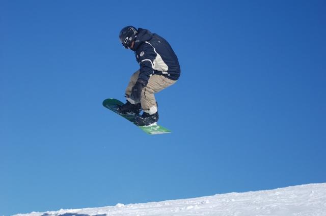 Сноуборд, биг эйр