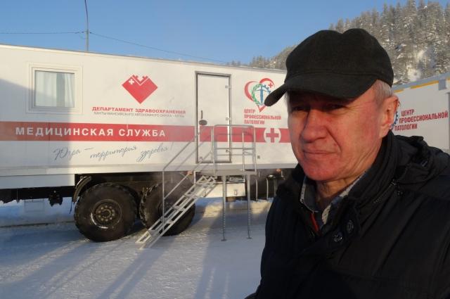 Администратор поликлиники Александр Котов.