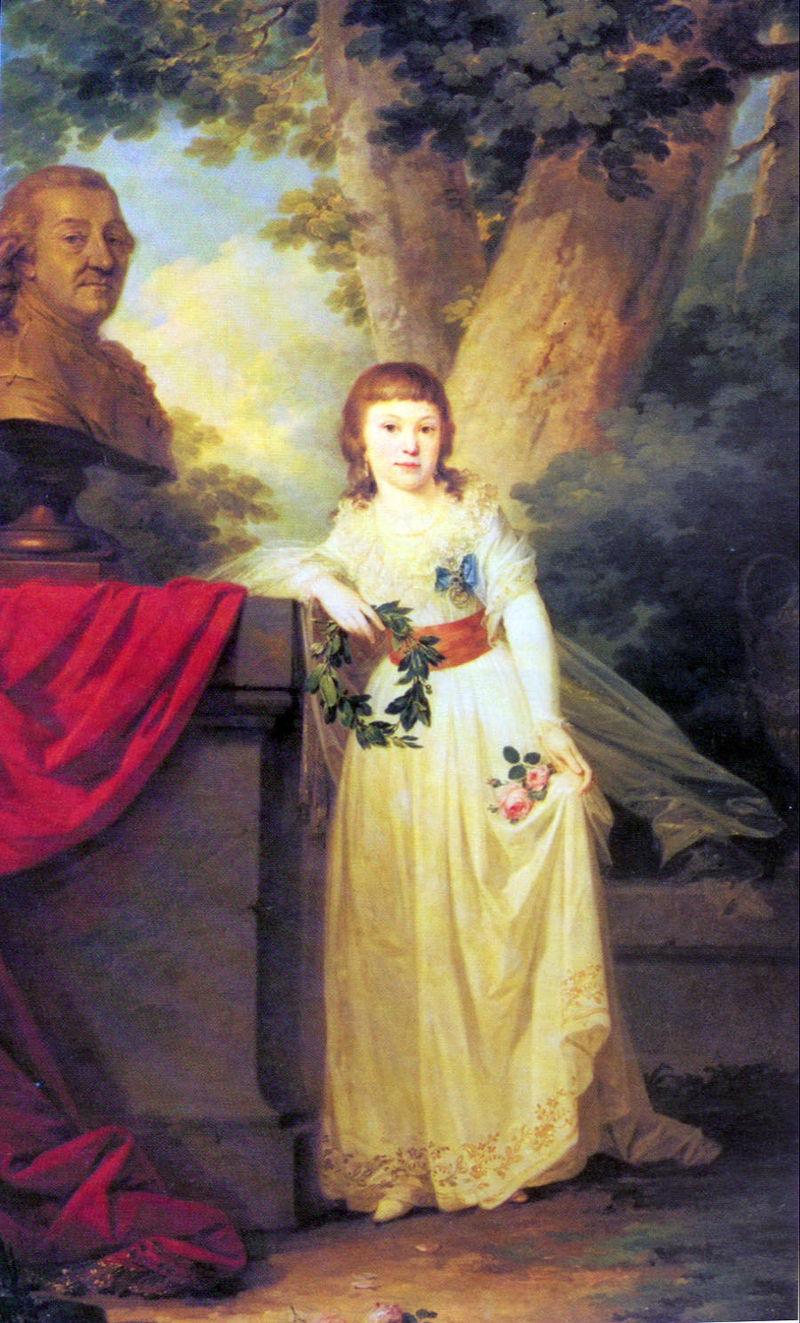 Анна Орлова поражала всех знанием французского, немецкого, английского и итальянского языков.