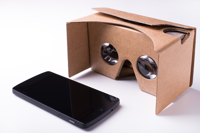 Google Cardboard.