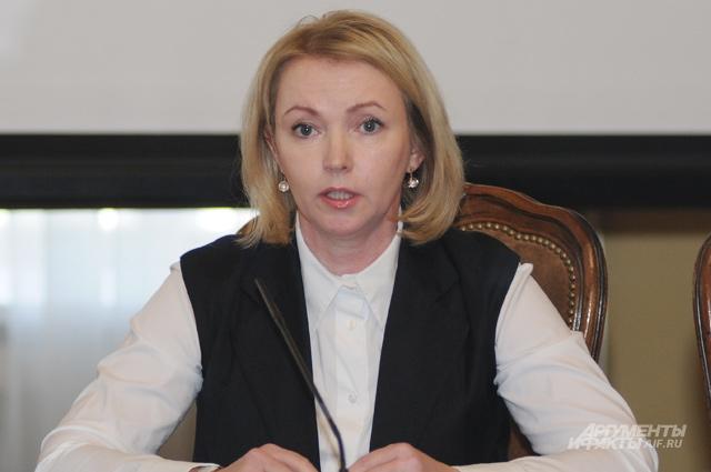 Член комитета Совета Федерации по аграрно-продовольственной политике и природопользованию Ирина Гехт.