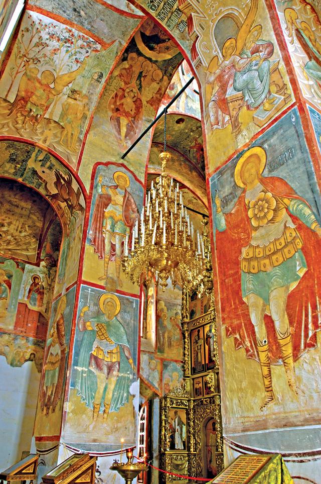 Фрески Успенского собора.