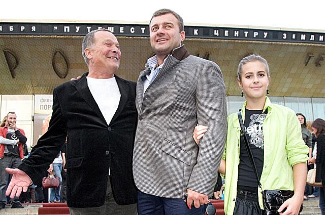 Михаил и Варвара Пореченковы на премьере фильма День Д . 2009 год