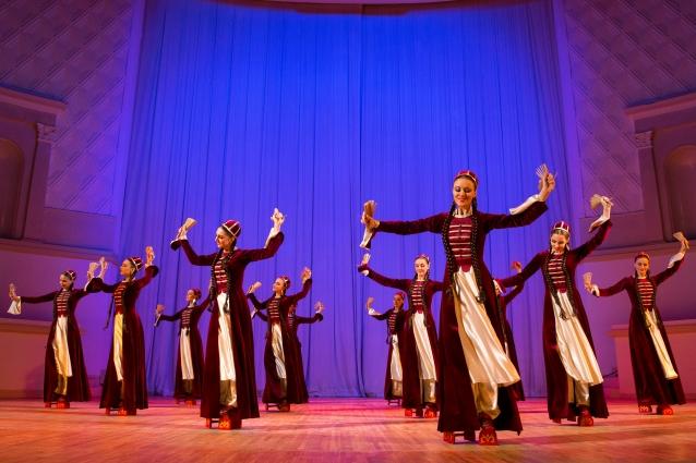 Адыгский танец «Тляпатет» в постановке Аслана Хаджаева