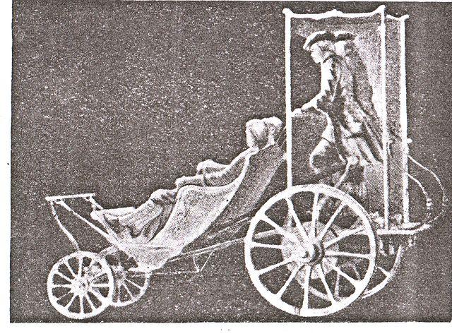 Реконструкция самобеглой коляски Шамшуренкова.