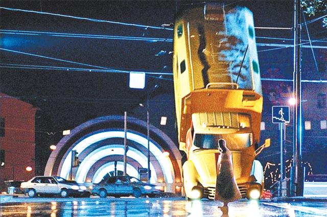 Кадр из фильма Тимура Бекмамбетова «Ночной дозор».2004 год