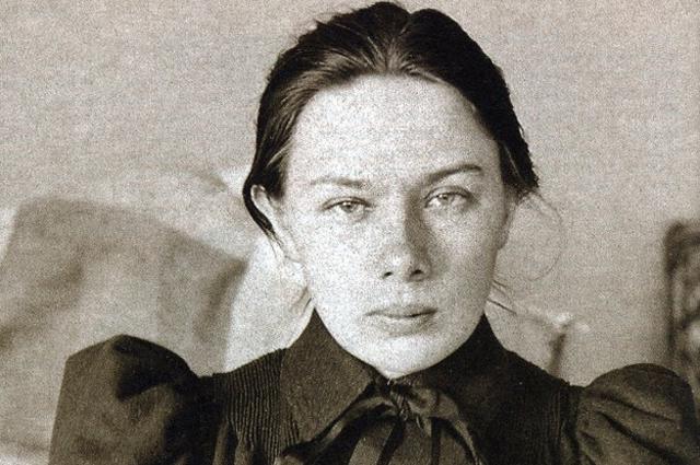 Надежда Крупская. 1890 год.