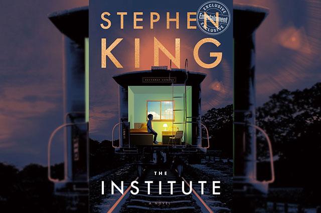 Обложка новой книги Стивена Кинга «Институт».