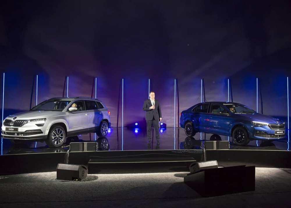 Были представлены сразу две модели - KAROQ и новый RAPID.