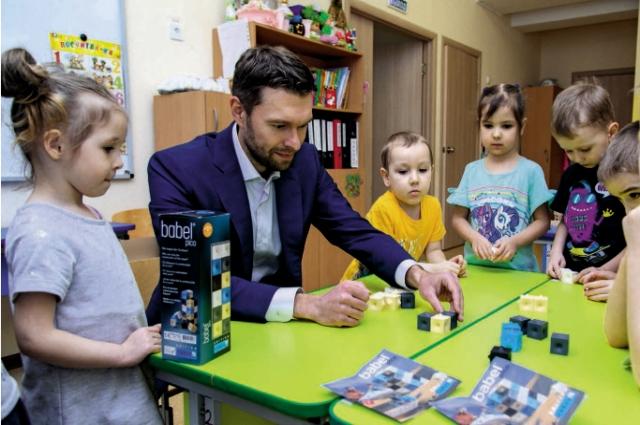 Алексей Вихарев лично провёл уроки экологической грамотности в6 школах и 8 детских садах.