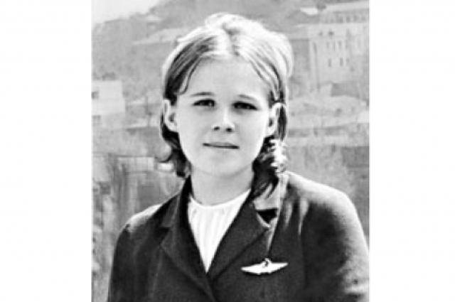 Погибшая бортпроводница Надежда Курченко.