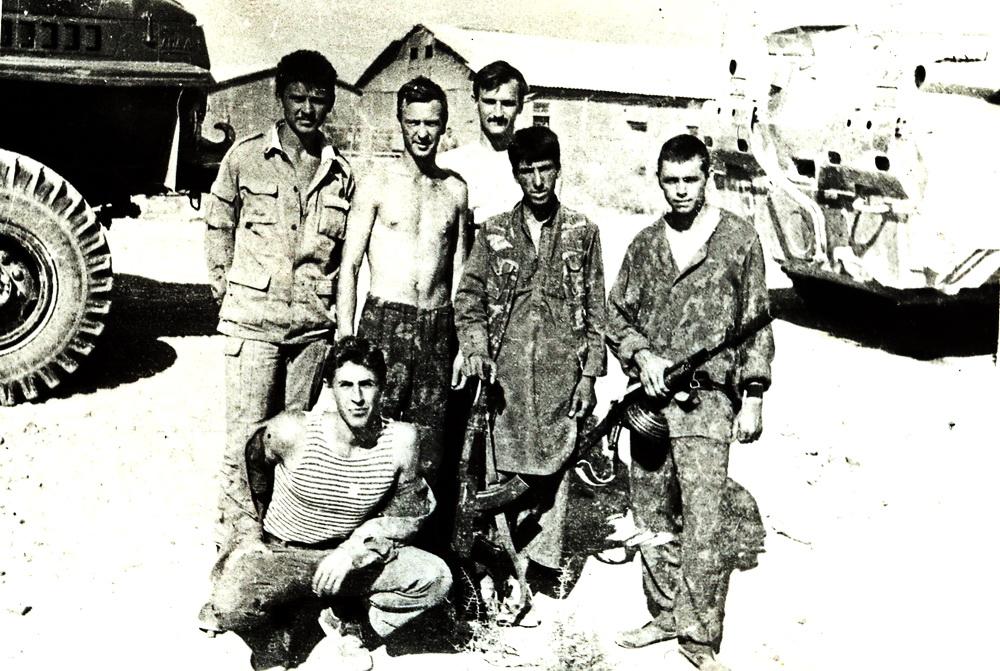В бой бы пошёл с теми солдатами 1986 года призыва
