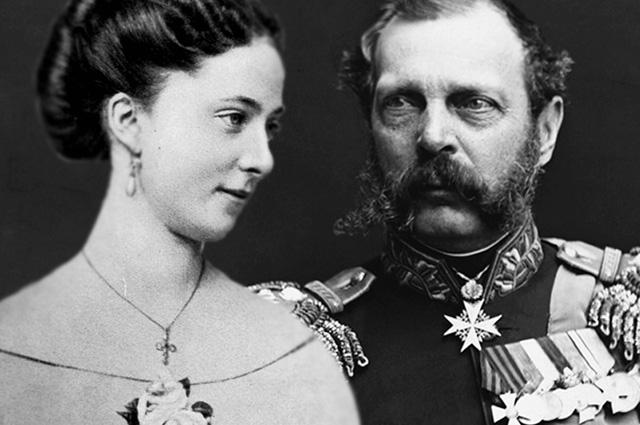 Екатерина Долгорукова и Александр II