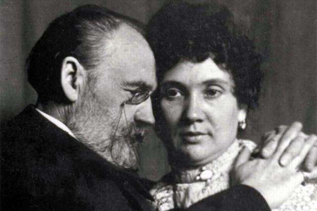 Эмиль Золя и Жанна Розеро