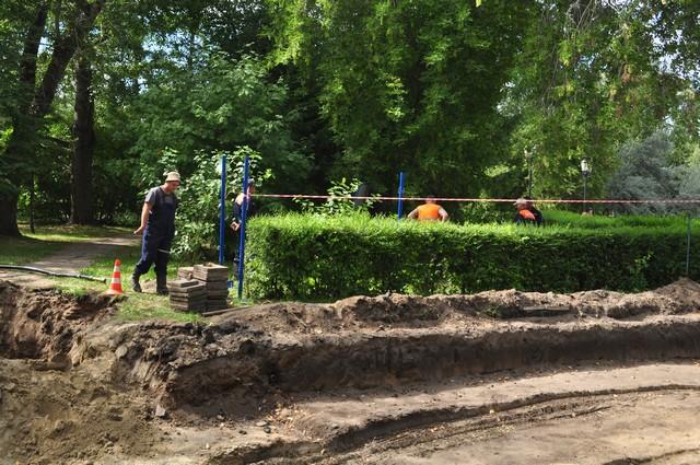 сквер имени дзержинского, вырубка деревьев, реконструкция сквера