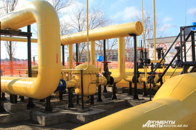 Мощности нового газопровода позволяют развивать Ростов и граничащие садовые участки Аксайского района до 2025 года.