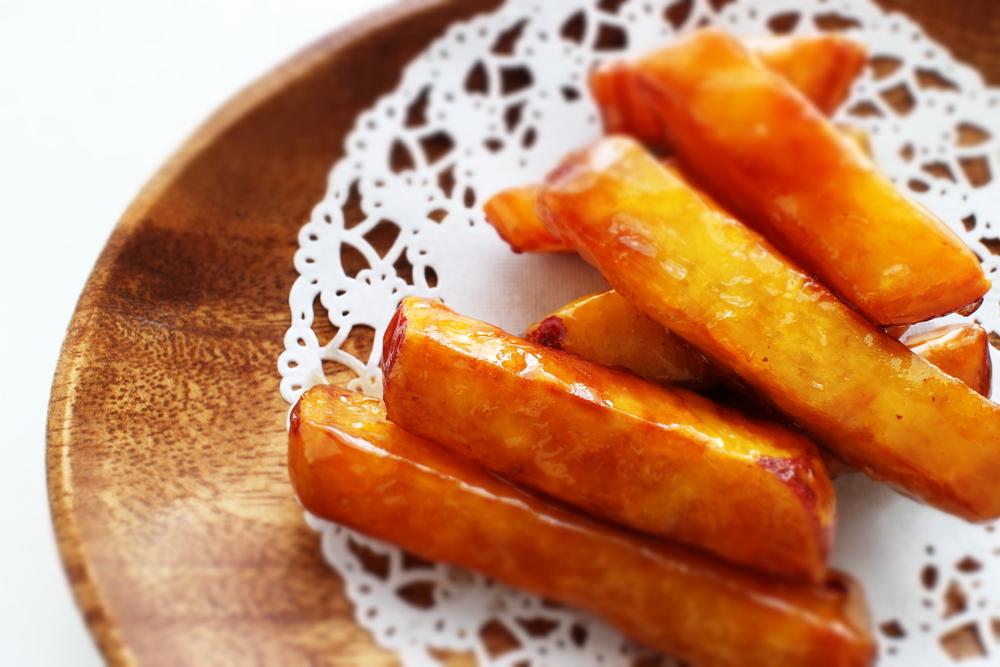 Карамелизованный картофель