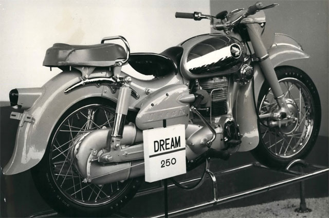 'Dream'' 250 c.c., made by the Honda Company. 1957 г.