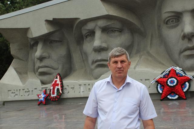 Александр Титоренко вырос на подвигах отцов и дедов.