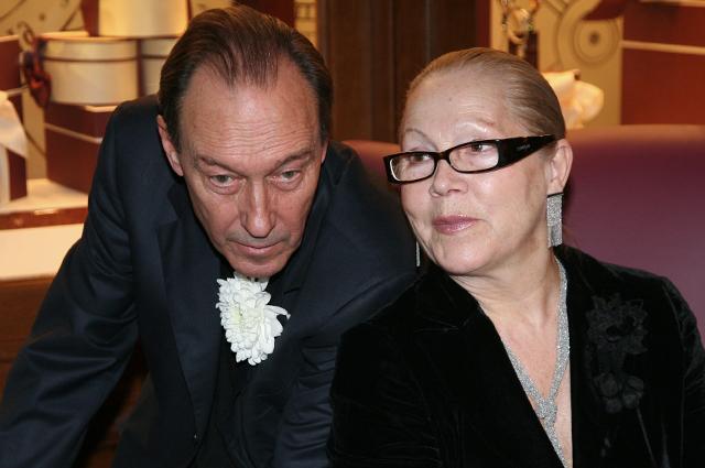 Олег Янковский с супругой Людмилой. 2008 г.