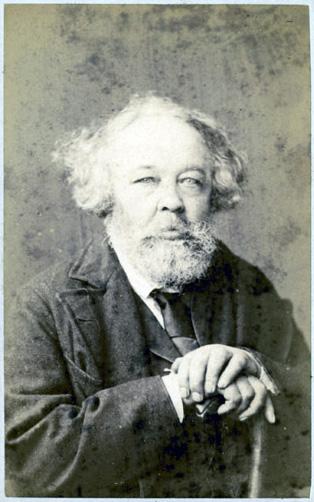 Михаил Бакунин в 1872 году.