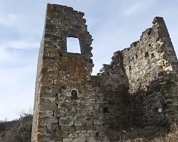 Всё, что осталось от родовой башни Турашевых.