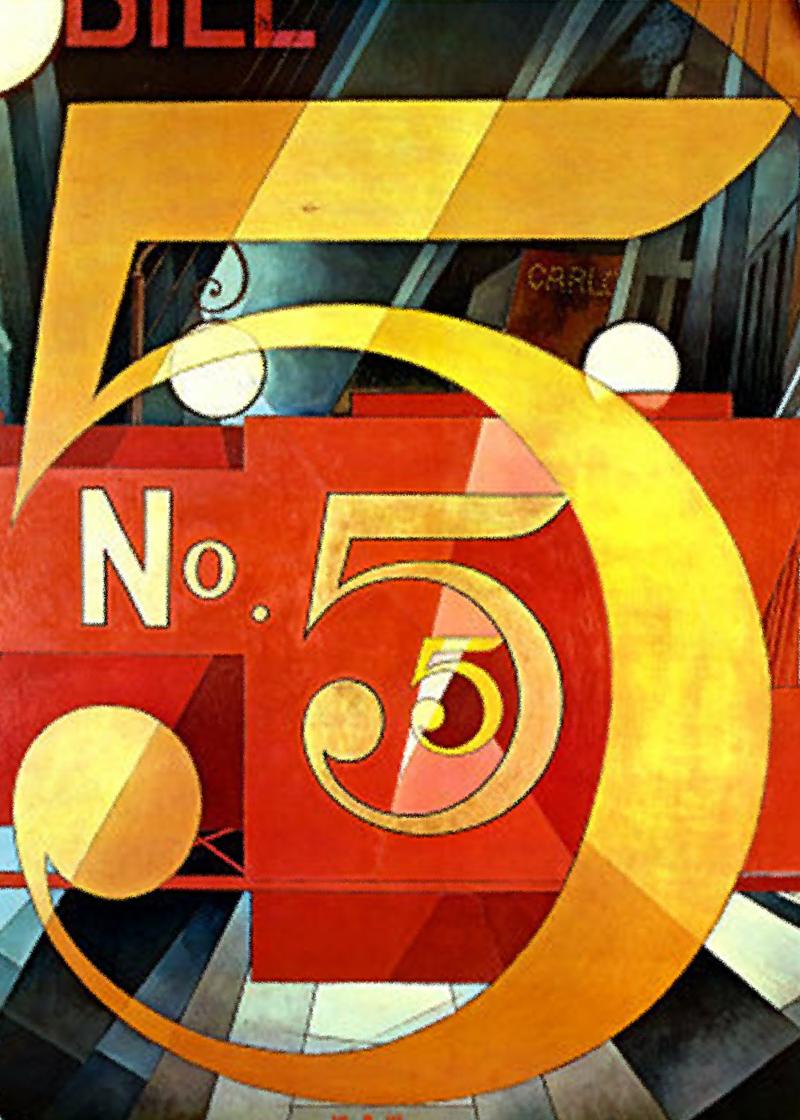 Чарльз Демут. Фигура №5 в золоте.