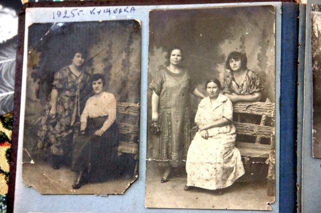 Из семейного альбома. Станция Кущевка, 1925 год.