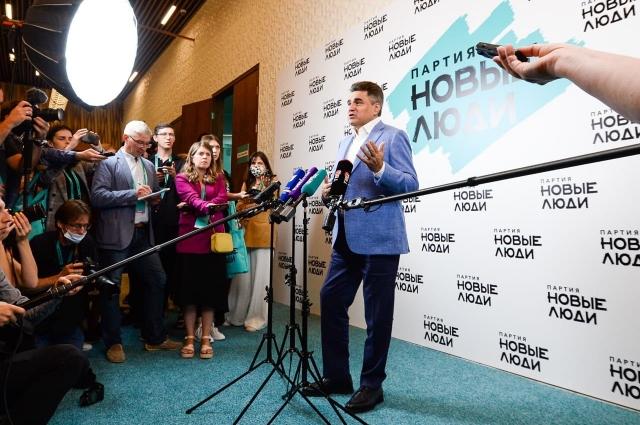 Лидер партии «Новые люди» Алексей Нечаев