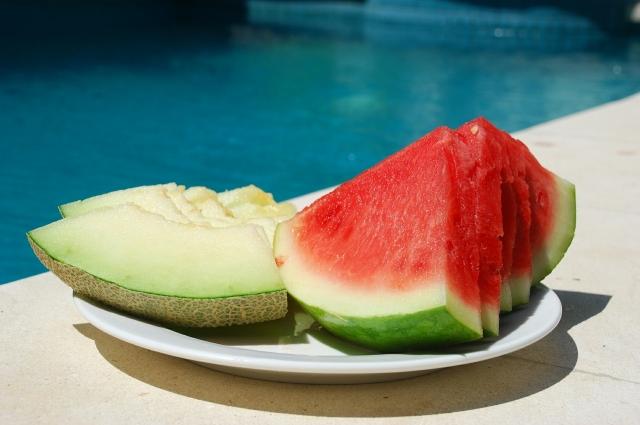 В арбузе меньше сахара, чем в дыне.