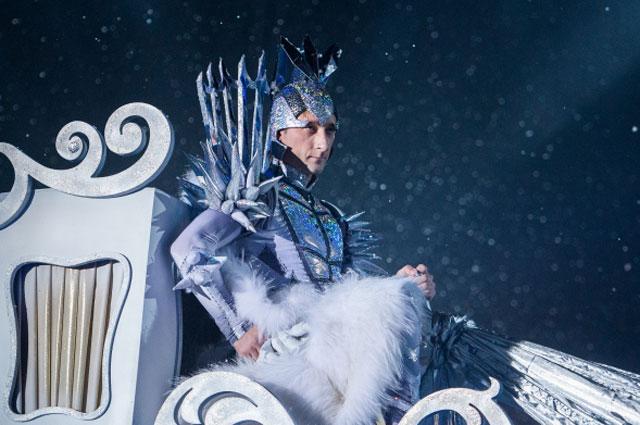 Евгений Плющенко на закрытом премьерном показе шоу Снежный король