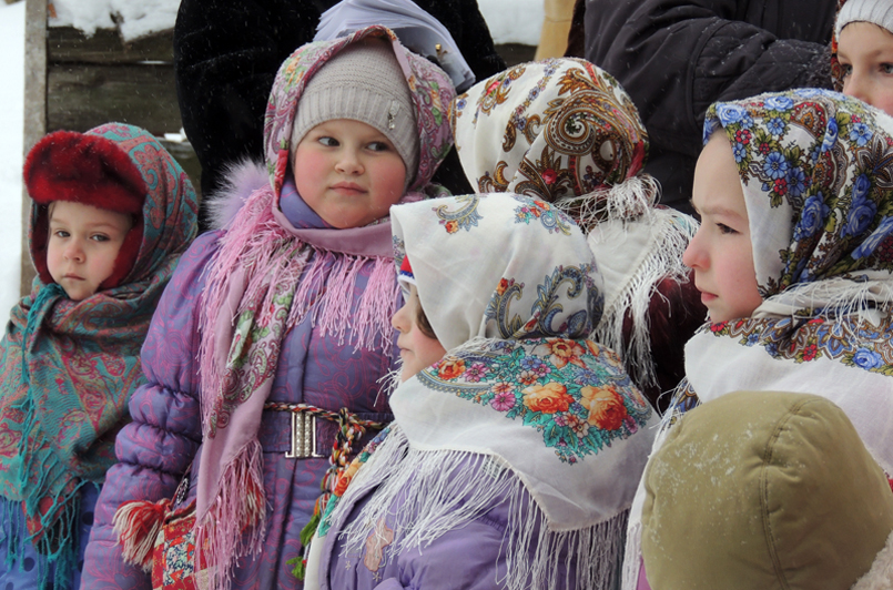 Дети —главные участники праздника