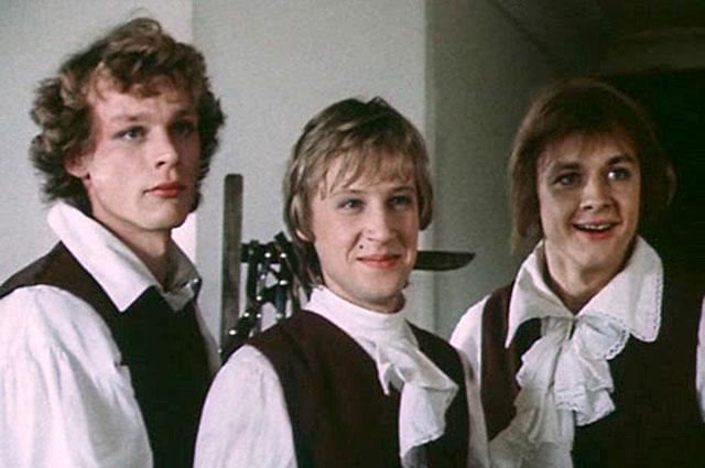 Кадр из фильма «Гардемарины, вперёд!», 1987 год