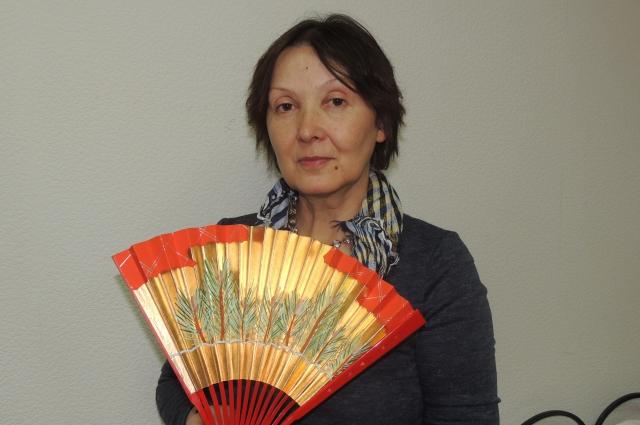 За годы работы Янковская отреставрировала более 400 вееров.