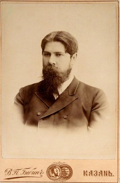 Владимир Бехтерев, 1881 г.