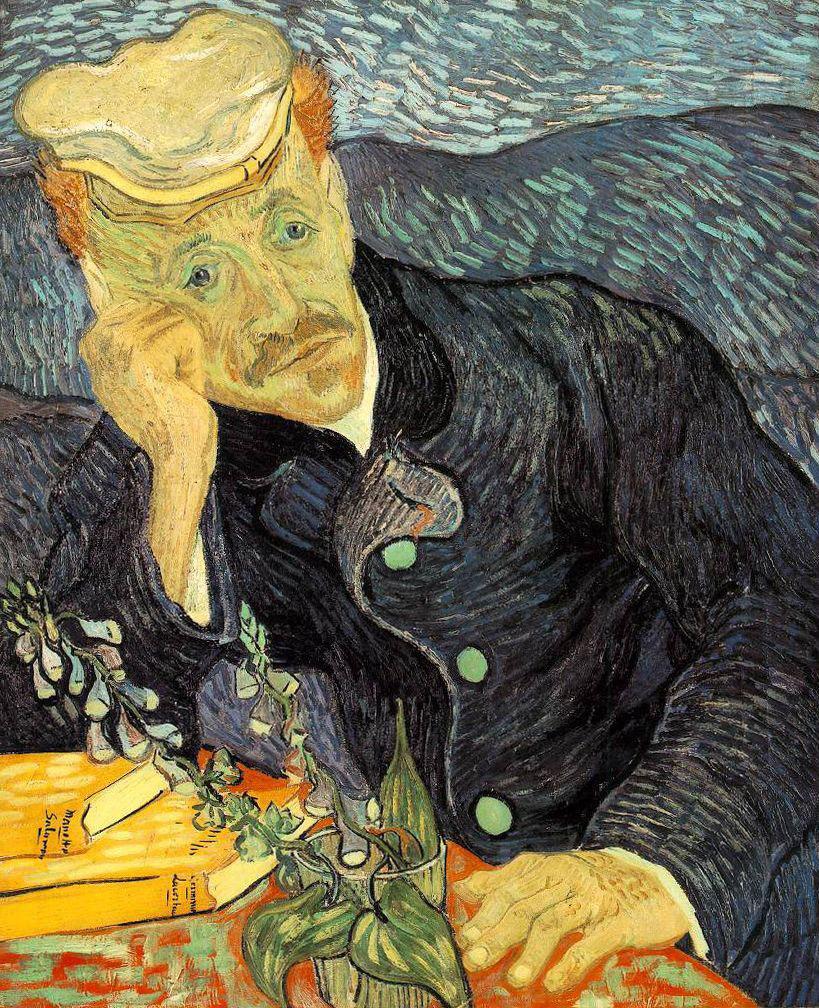 Винсент Ван Гог, «Портрет доктора Гаше». 1890 г.