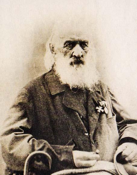 С. Г. Волконский в старости. 1864 г.
