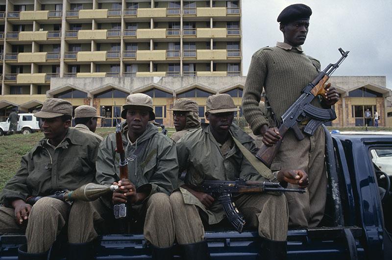 Солдаты Руандийского патриотического фронта (РПФ)