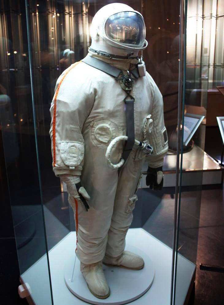 Скафандр «Беркут» использовался для первого выхода человека в открытый космос.