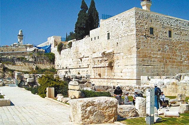 Археологический музей у южной стены Иерусалимского храма